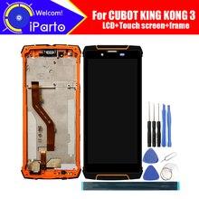 5.5 polegada cubot king kong 3 display lcd + digitador da tela de toque montagem do quadro 100% original lcd digitador toque para king kong 3