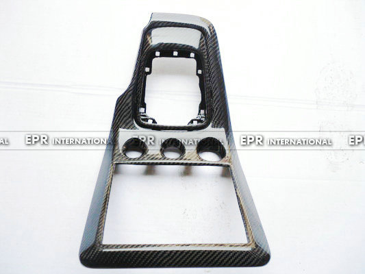 For Nissan S15 Carbon Fiber font b Radio b font Gear Surround 2pcs In Stock