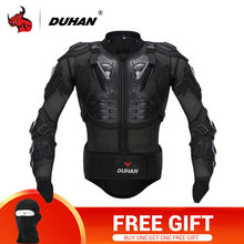DUHAN Motorcycle Jacket Motorcycle Armor Riding Body Prtection Motorcross Racing Full Body Armor Spine Chest Protective