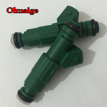 Brand new 440cc 0280 155 968 42lb 0280155968 high performance EV1 universal fuel injector for 1.8T VW AUDI for VOLVO Golf