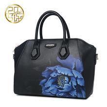 Женщины сумки Pmsix 2016 новый осенне-зимней моды печатные Сумка сумка Китайский ветер темперамент сумки