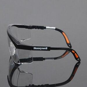 Image 4 - מקורי Honeywell עבודת זכוכית עין הגנה אנטי ערפל ברור מגן בטיחות לעבודה
