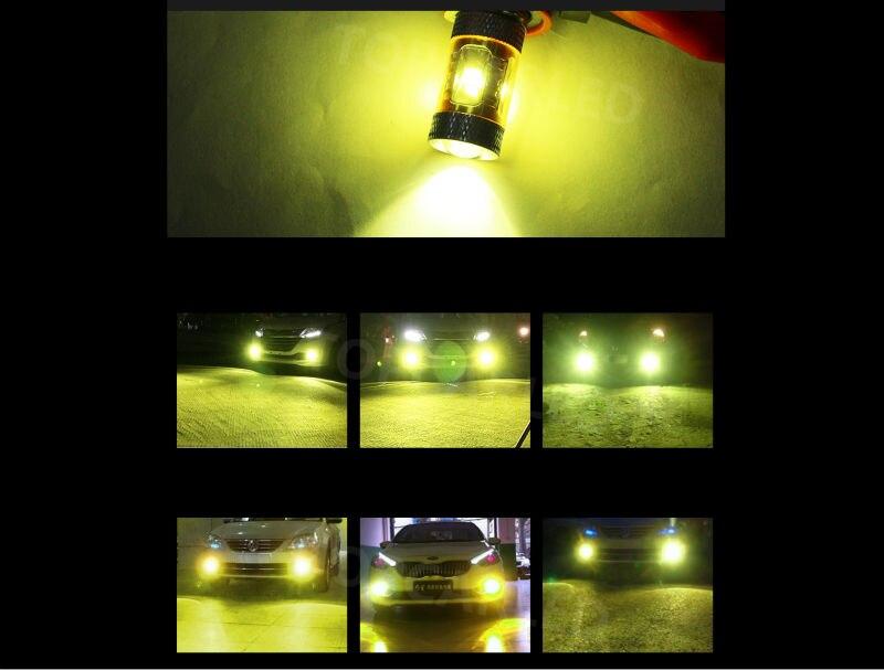 1pc H11 LED Auto Nebel Lampe Birne 30W High Power 4500K Weiß Gelb Auto Auto Fahren Nebel licht DC 12V Universal