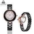 2016 New Fashion Ceramics Watches Women Dress Watch stylish women casual watch Quartz Wrist Watches clock female