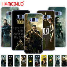 HAMEINUO Loki Thor cell phone case cover for Samsung Galaxy S9 S7 edge PLUS S8 S6 S5 S4 S3 MINI