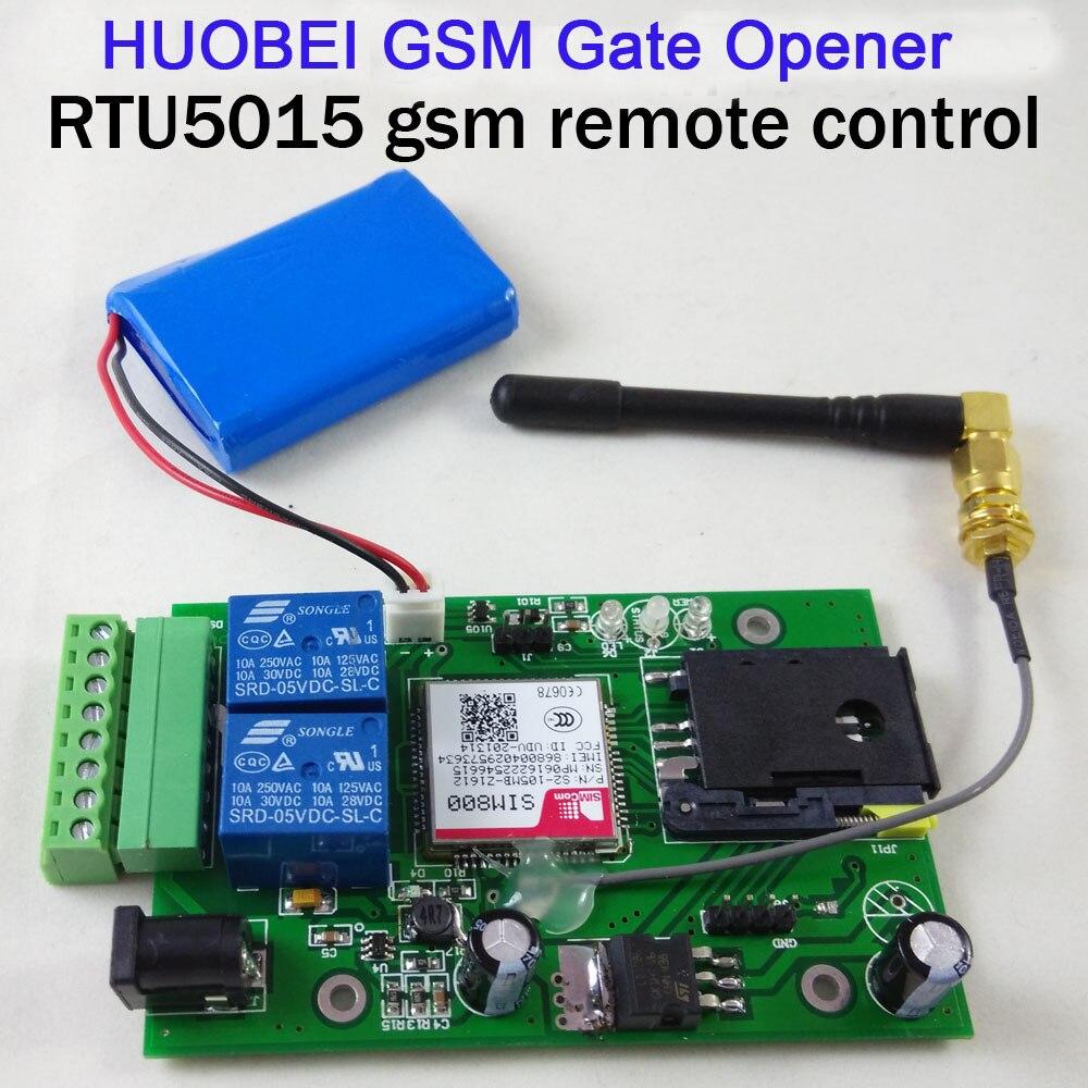 2 อินพุต  1 เอาต์พุต RTU 5015 GSM รีโมทคอนโทรลรีเลย์ควบคุมประตู gsm เปิดแบตเตอรี่สำรองรองรับสำหรับปิดด้วย app-ใน ชุดอุปกรณ์ควบคุมการเข้าถึง จาก การรักษาความปลอดภัยและการป้องกัน บน title=