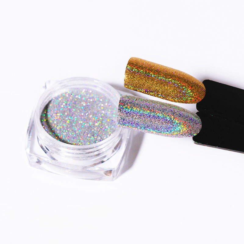 1g Laser Gold Silver Holographic Shiny Powder Magic Mirror Powder Nail Glitters Nail Art Sequins Chrome Pigment Nail Polish Dust-in Nail Glitter from Beauty & Health on Aliexpress.com | Alibaba Group