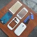 Оригинальный OEM Для Samsung S3 SIII мини GT-i8190 Белый Полный Жилищно Чехол Обложка Замена переднее стекло, с 3 М клея, 8 инструменты