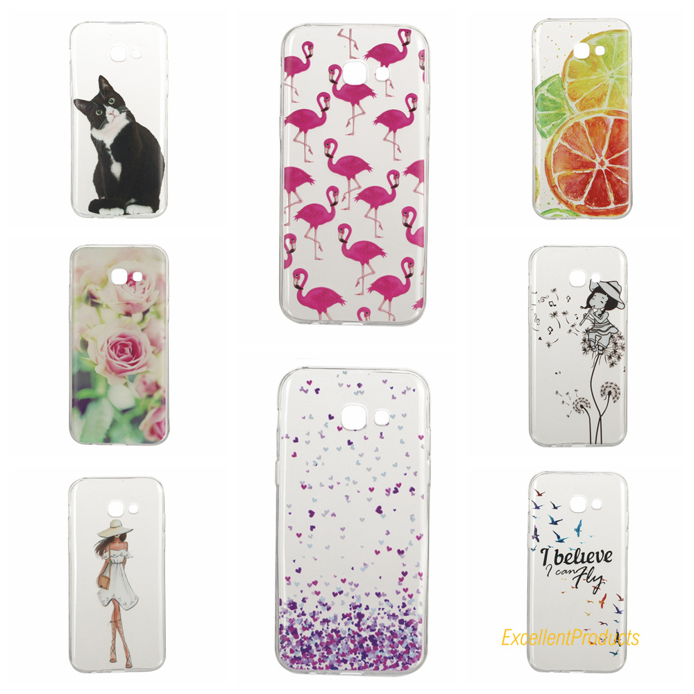 cover samsung a3 2017 silicone 3d