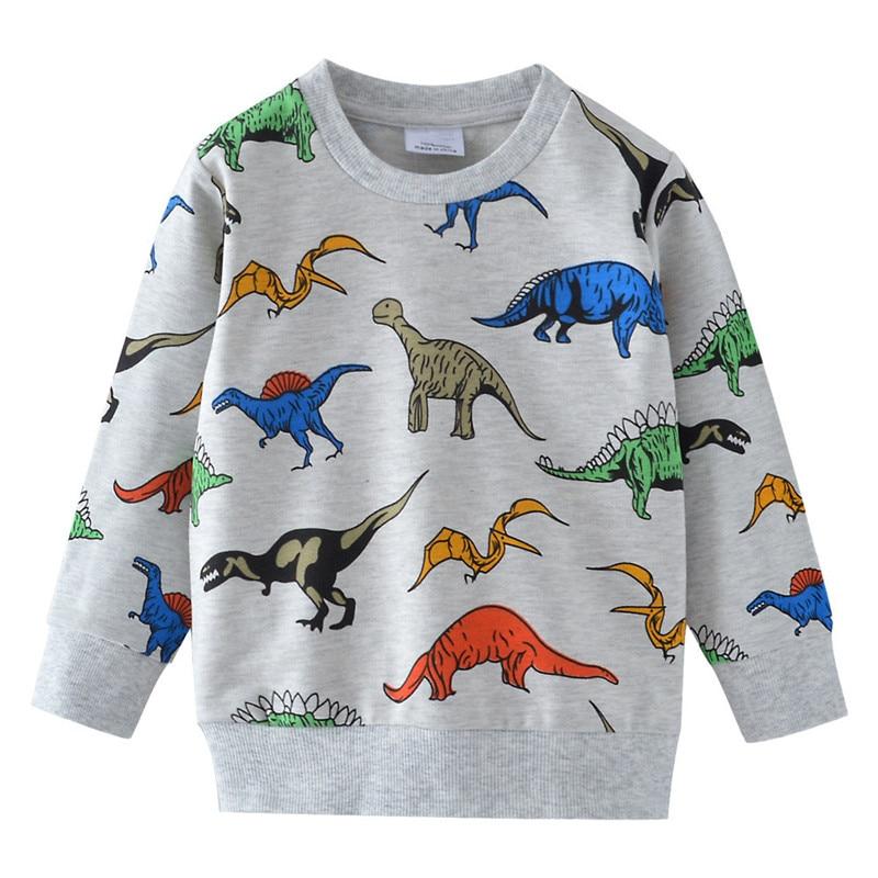 2019 Kids Boys Flip Sequin T-Shirt Tops Soccer Autumn Long Sleeve Tee Age 1-7