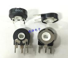 [VK] T Испания PT15-500K B504 15 мм регулируемый потенциометр Вертикальная эллиптическая дыра Вращающийся Регулируемый переключатель сопротивления