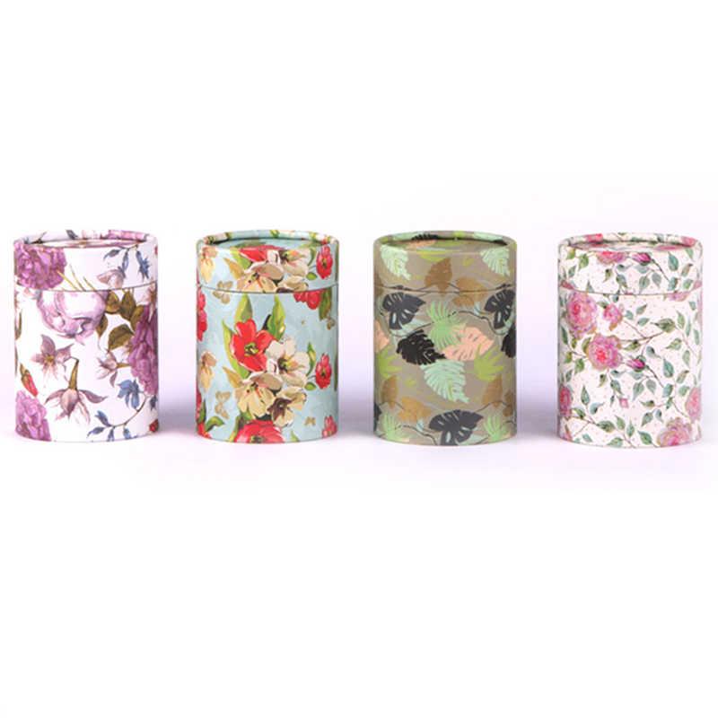 Xin Jia Yi บรรจุภัณฑ์กล่องกระดาษสดดอกไม้กระดาษทรงกระบอกกล่องกาแฟ Candy ของขวัญกล่องโรงงานอุปทานโดยตรง