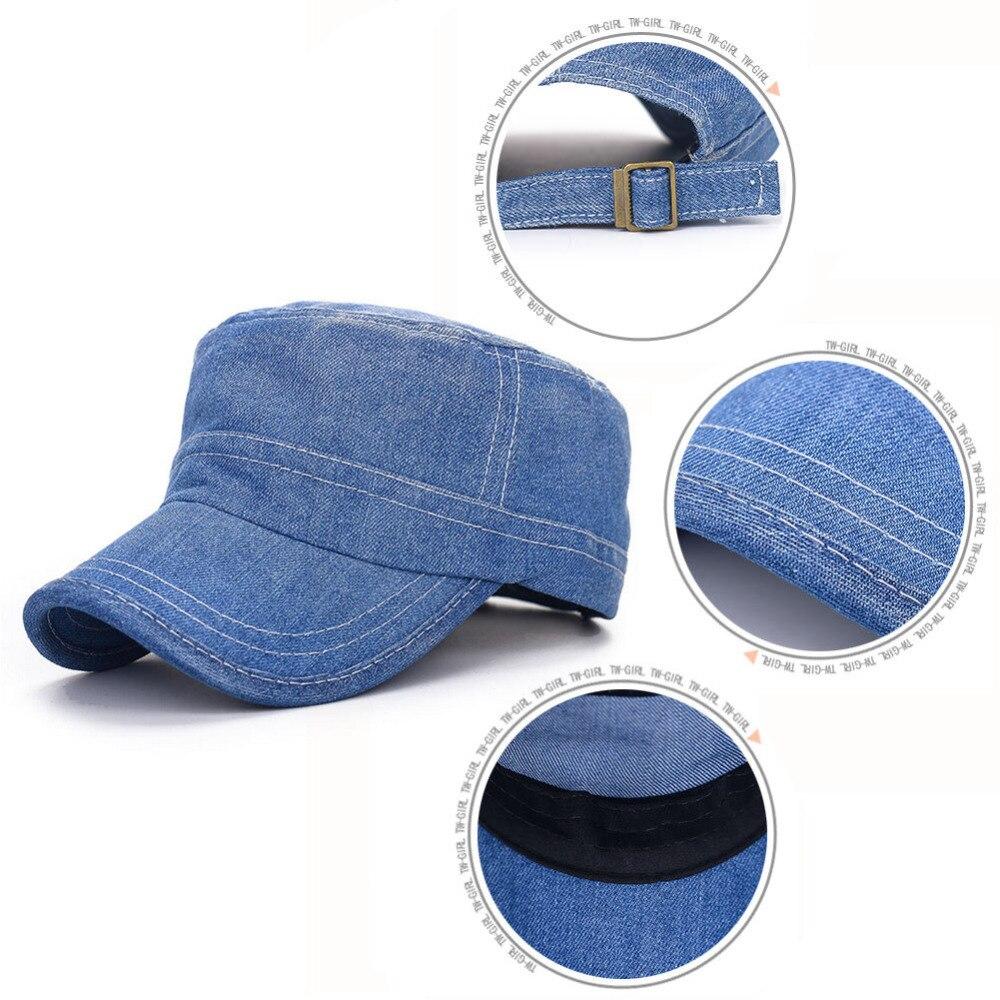041a432b89a Men Women Jeans Cap Casual Denim Snapback Hats Solid Gorras Casquette Hat  for Women Men