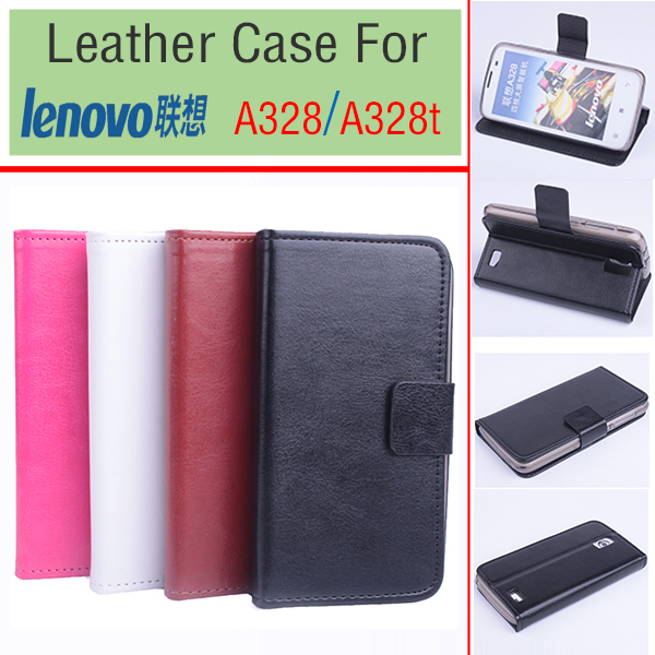 promo code b0876 79003 US $4.98 |For Lenovo A328 Cases Luxury Leather Flip Cover Left Right Case  For Lenovo A328t Mobile Phone Set With Wallet Slot-in Flip Cases from ...