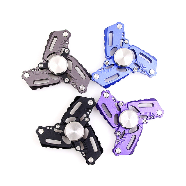 Fidget Spinner Reactor Hand EDC Antistress Toy Spiner Metal Toys For Children Finger Spinners Vs