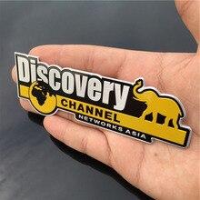 Алюминий Discovery Channel знак наклейка Стикеры для Jeep Wrangler Renegade Grand Компасы Cherokee Стайлинг Аксессуары