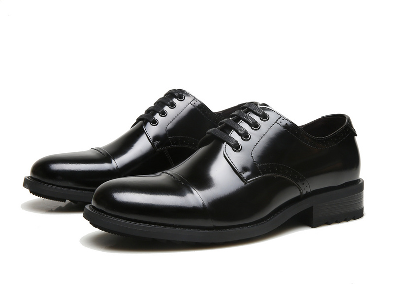 ECCO Brand New Arrival Fashion Men Shoes Party and Wedding Men Dress Shoes Black Formal Male Oxford Shoes 623535 7