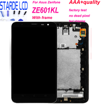 For Asus ZenFone 2 Laser ZE601KL LCD Z011D ZE601K Display Touch Screen Panel Digitizer Replacement Parts With Frame and Tools цена в Москве и Питере