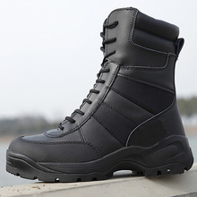 Laite Hebe Delta Tactical Shoes Military Boots 2017 New SWAT Combat Boots Outdoor Army Shoes Waterproof Boots Black Men LH194-1