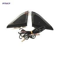 For Hyundai ix25 speakers tweeter car styling Audio trumpet head speaker ABS material triangle speakers tweeter free shipping