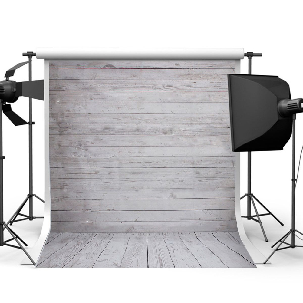 3x5FT 5x7FT Retro Backdrops Wood Wall Floor Vinyl Photography Background Baby Studio Photo Prop Photographic Backdrop Cloth