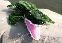 stuffed animal 160cm crocodile plush toy simulation crocodile doll gift w0258