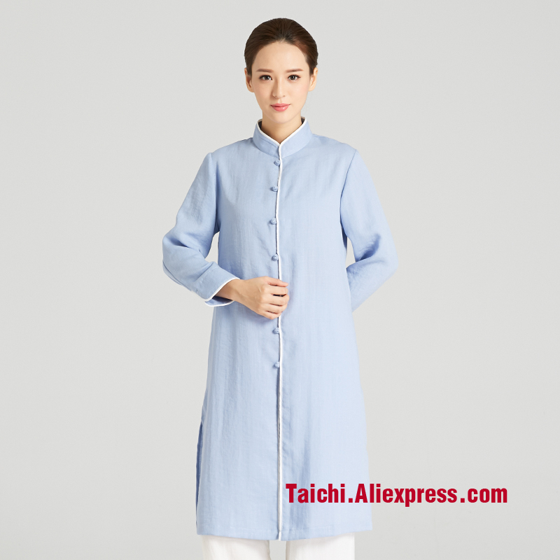 Martial Art Tai Chi   Long - Sleeved Practice  Clothing  Female Wu Shu Performance Suits