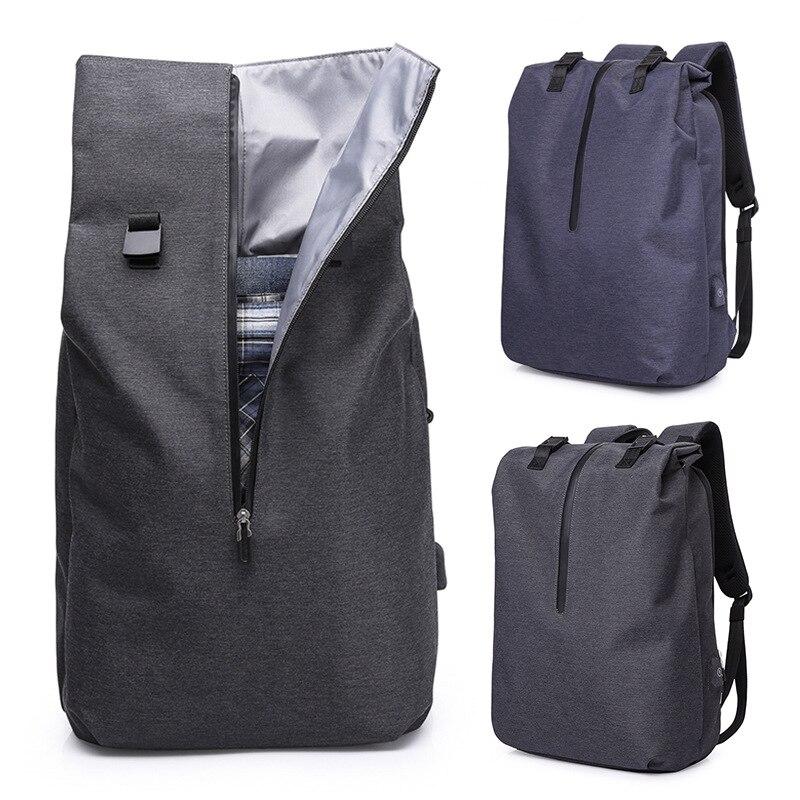 Le bleu Nouveau À Étanche Charge D'ordinateur capacité Style Sacs D'affaires Portable Hommes Sac Garde Haute Vol Dos De Contre Usb Noir 2018 wUqg1xCI