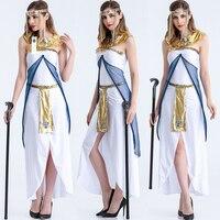 ManLuYunXiao 2017 קוספליי תלבושות מצרים מלכת מסיבת ליל כל הקדושים נסיכה רומא העתיקה מדים קוספליי נשים שמלה ביגוד אתני