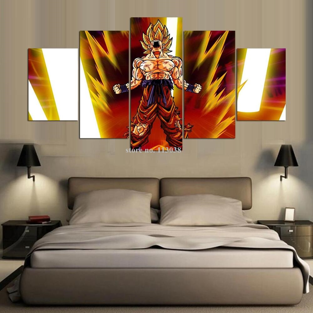Online Buy Wholesale Dragon Ball Z Pictures From China Dragon Ball - Dragon ball z wall decals