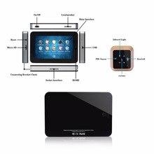 4.3inch Smart Door Peephole Camera HD Touch Screen Video Recording Wireless PIR Motion Sensor Smart Video Door Viewer F1425A