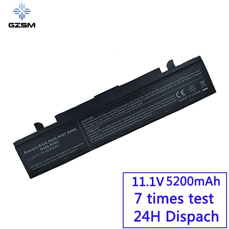 R428 GZSM Bateria Do Portátil para SAMSUNG R540 R530 RV520 R528 RV511 NP300 R525 R425 RC530 R580 AA-PB9NC6W AA-PB9NC6B bateria