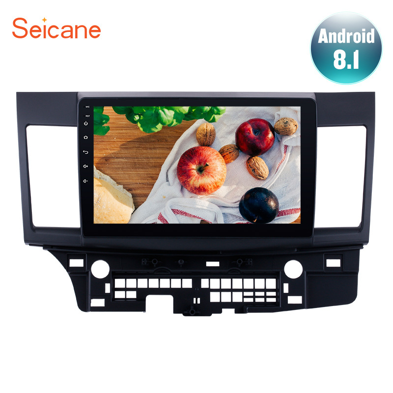 Seicane Android 8.1 10.1 inch For Mitsubishi Lancer-ex 2008 2009 2010-2015 Car Radio Head Unit GPS Navi Audio Multimedia Player