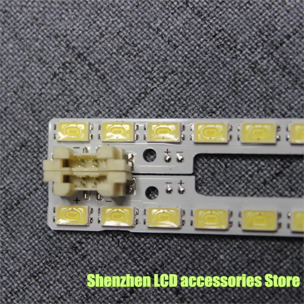 2pcs LED 72leds For Samsung 46'' 2011SVS46-FHD-5K6K RIGHT+LEFT JVG4-460SMB-R1 BN64-01644A UE46D5000 UE46D6000 UN46D6000