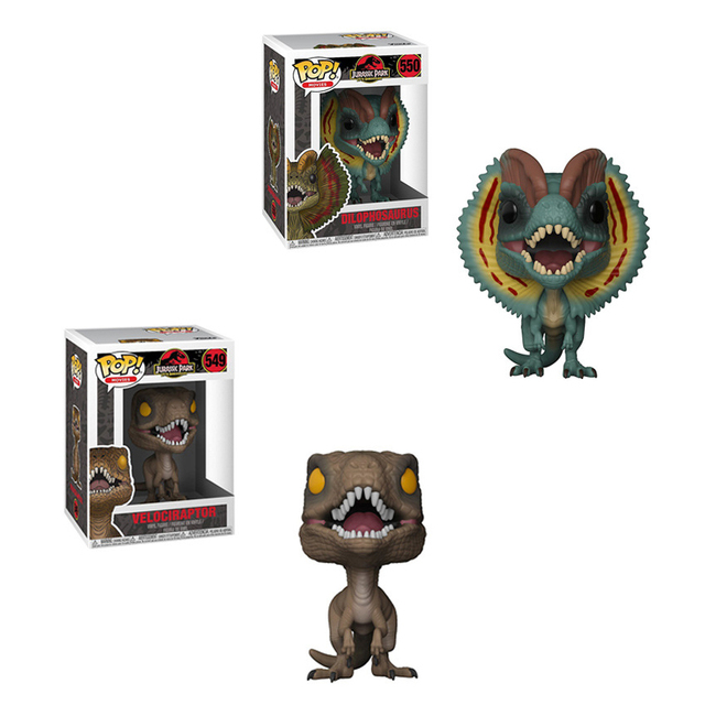 Parkamp; Figurines Collection Dinosaure Funko Pvc De PopJurassic CxsrtQhd