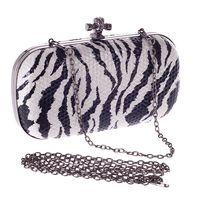 Donna Evening Bag Tasca Il Cellulare Zebra Leopard Coccodrillo Struzzo della Festa Nuziale di Modo Del Raccoglitore Mini Catena Borse Messenger 2017