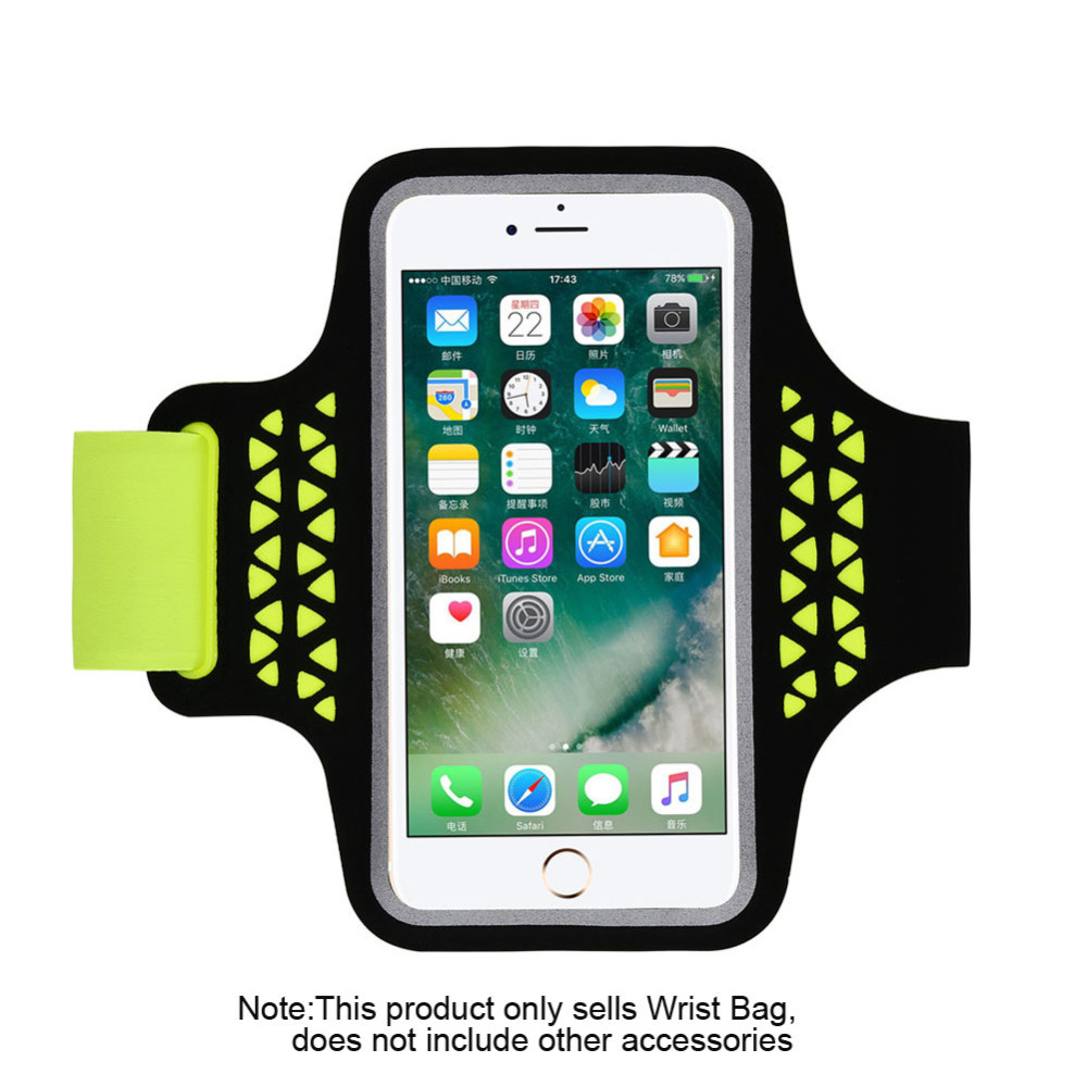 Unisex Fitness Sports Water Resistant Sports Running Armband Arm Band Phone Case Cover Key Holder 5.7 Inches