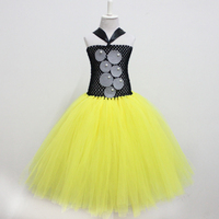 Yellow And Black Tutu Dress For Baby Girls Newborn Dress Baby Girls Christmas Dress Baby Tutu