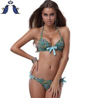 Bikini Push Up Bikini Swimwear Swimsuit Women Padded Boho Biquinis Bikini Set New Swimsuit Lady Bathing