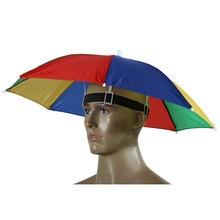 Outdoor Women Men Camouflage Headwear Umbrella Hat Camo Foldable Sunscreen Fishing Hat Cap for Camping Hiking Cycling Fishing
