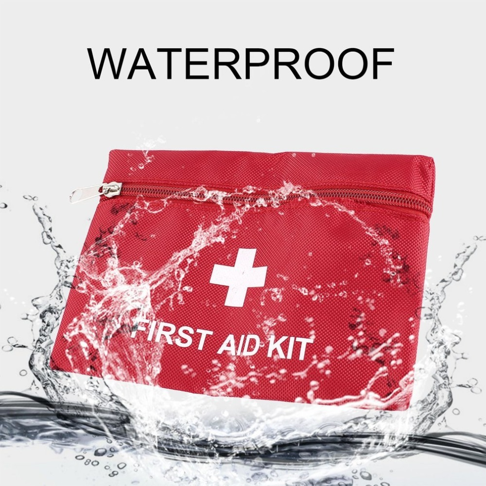 1.4L Portable First Aid Kit Bag Travel Emergency Rescue Medical Packet Treatment Outdoor Camping First Aid Kits Free shipping red 2l portable outdoor waterproof first aid bag medical life saving bag camping travel disaster relief first aid kit