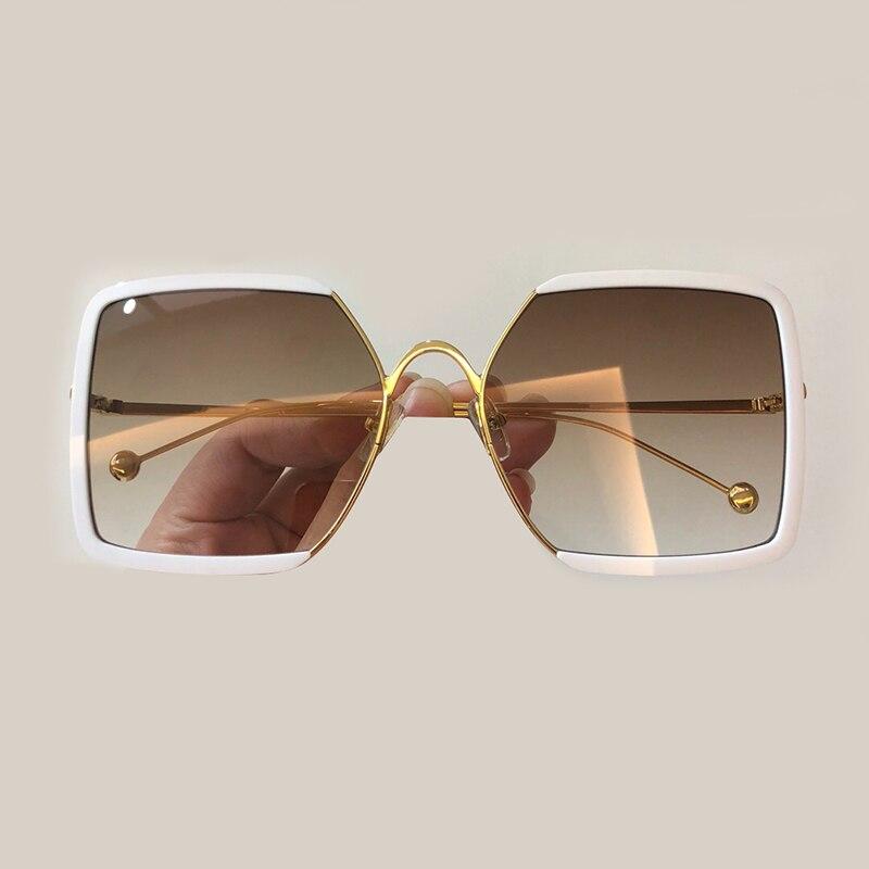 Sunglasses Neue Retro Mode No1 Platz Frauen Damen Sunglasses Sonnenbrillen Stil Sunglasses no4 Sonnenbrille no5 Gläser Rahmen no3 Design no2 Sunglasses Kleinen Halb Marke Sunglasses qgwI4fg