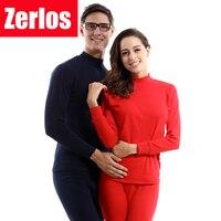 Zerlos ماركة الملابس 2017 الخريف الشتاء المرأة طويلة جونز الياقة العالية تعيين الدعاوى الحرارية رقيقة 100% ٪