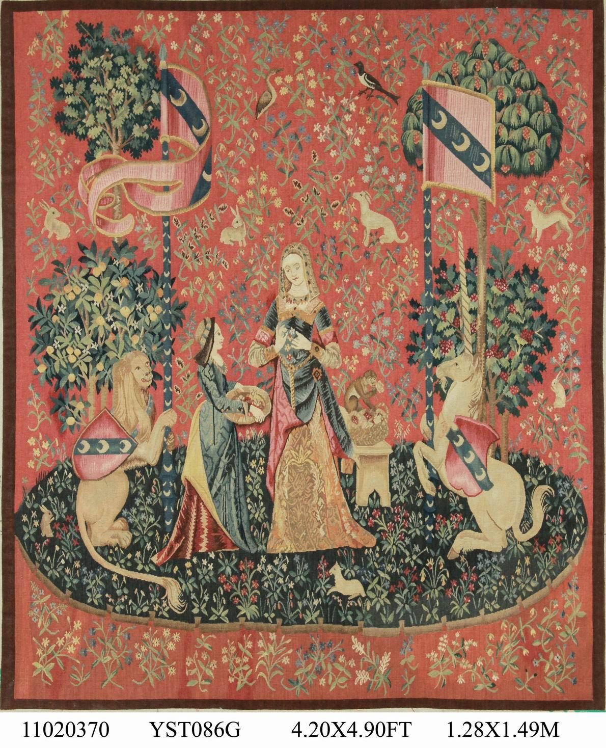Настенные подвесные гобелены Aubusson французский гобелен шерсть вязание ковры ткань гобелен настенный гобелен на заказ