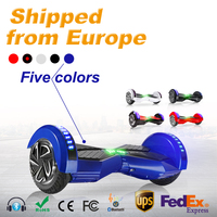 2 Wheel Hoverboard With Colored Lights Scooter 8 Inch Bluetooth Self Balancing Scooter Smart Electric Hoverboard