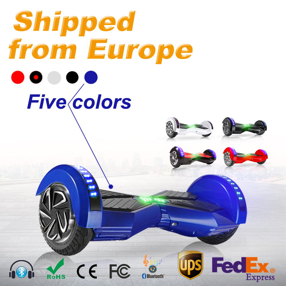 2 wheel hoverboard with Colored lights scooter 8 inch bluetooth self balancing scooter smart electric hoverboard one wheel scooter hoverboard usb interface one wheel electric scooter hoverboard bluetooth wheelbarrow self balancing scooter