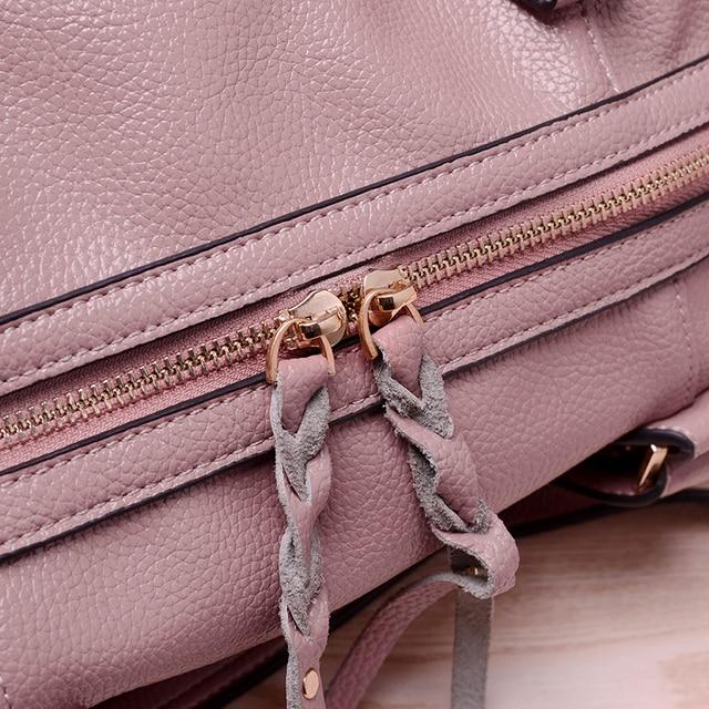 2017 New European Fashion Lady Bag Handbag Shoulder Pillow Satchel Business Single Women Soft Brand Woman Large Bags