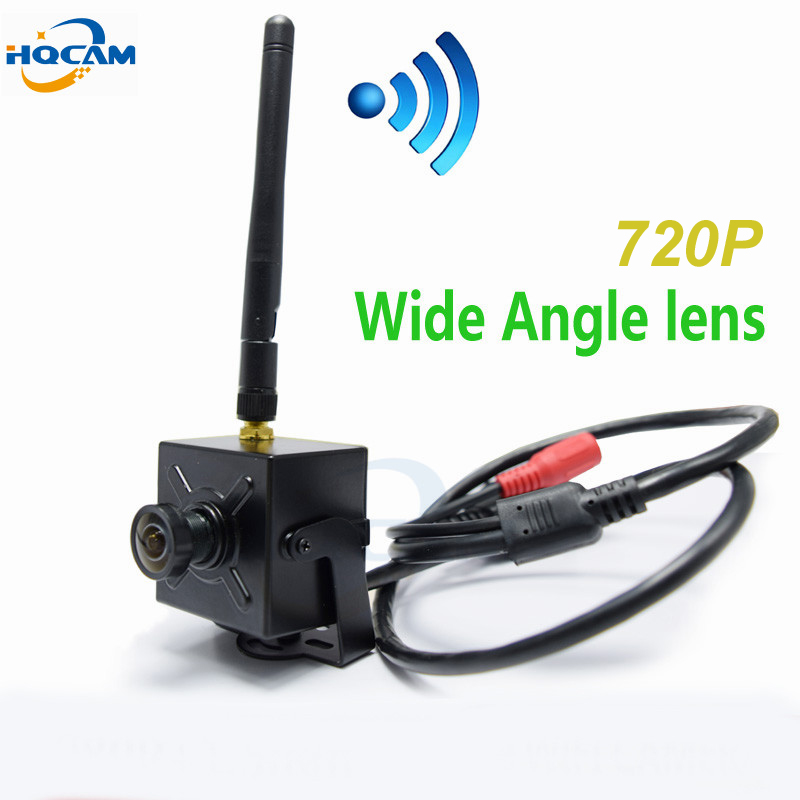 HQCAM 720P WIFI 2.1mm 120 degrees Lens Wide Angle mini wifi ip camera Wireless Onvif HD ip camera wifi P2P mini wifi camera камера наблюдения zmodo wifi 720p hd ip