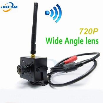 HQCAM 720P WIFI 2.1mm 120 degrees Lens Wide Angle mini wifi ip camera Wireless Onvif HD ip camera wifi P2P mini wifi camera