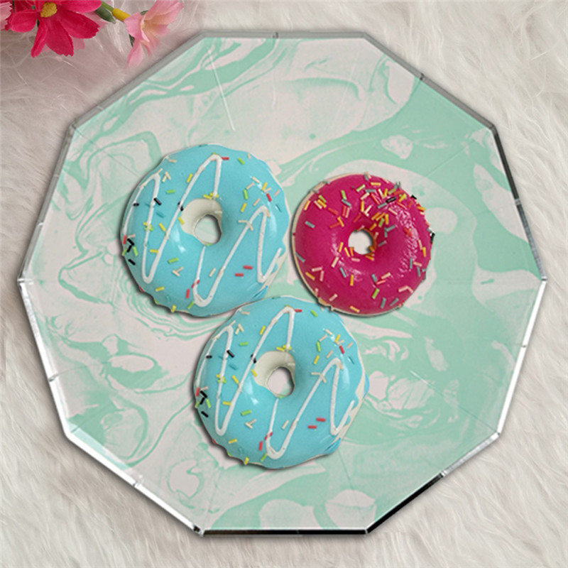 Fresh-Mint-Green-Halo-Pattern-Marble-Disposable-Tableware-Set-Paper-Plates-Cups-Party-Wedding-Carnival-Tableware (1)